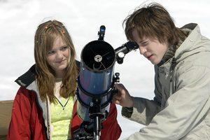 Da Emilie var yngre satset hun på skuespillerkarriere. Her fra Appelsinpiken. Foto ved Filmweb.