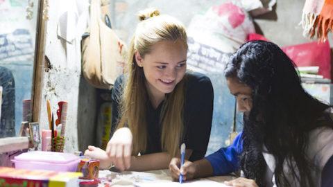 Det finnes heldigvis håp for jentene i Asia. Foto ved Erik Thalluag.
